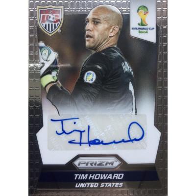 ТИМ ХОВАРД (США) 2014 Panini Prizm FIFA World Cup Brazil (автограф)