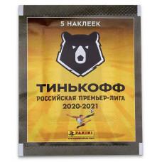 1 пакетик с наклейками (5 шт. в каждом) Panini РПЛ 2020-21