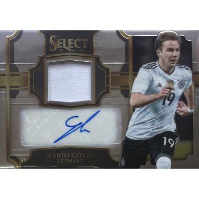 МАРИО ГЕТЦЕ (Германия) 2017-18 Panini Select Soccer (джерси-автограф)