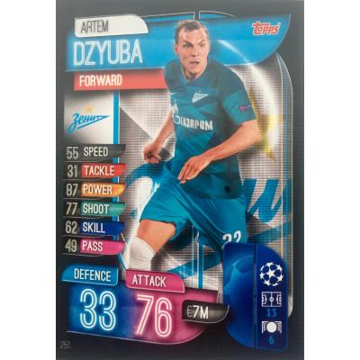 АРТЕМ ДЗЮБА (Зенит) 2019-20 Topps Лига Чемпионов УЕФА