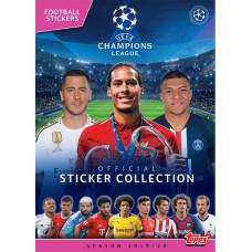 Альбом для наклеек по коллекции 2019-20 Topps UEFA Champions League