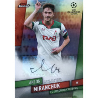 АНТОН МИРАНЧУК (Локомотив) 2020 Topps Finest UEFA Champions League (автограф)