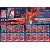 1 пакетик с наклейками (10 шт. в каждом) 2020-21 Topps UEFA Champions League