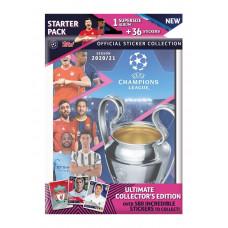 АЛЬБОМ + 3 пакетика (стартовый набор) 2020-21 Topps UEFA Champions League