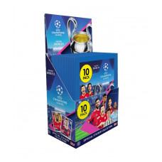 1 блок наклеек (30 пакетиков) 2020-21 Topps UEFA Champions League