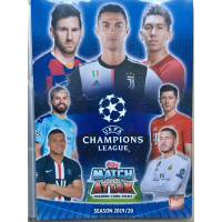 Альбом (биндер) для карточек по коллекции 2019-20 Topps Match Attax UEFA Champions League