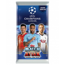 1 пакетик (6 карточек) по коллекции 2019-20 Topps Match Attax UEFA Champions League