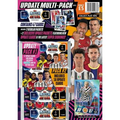 Комплект UPDATE MULTI-PACK 1-2 по коллекции 2020-21 Topps Match Attax UEFA Champions League