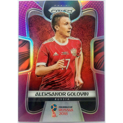 АЛЕКСАНДР ГОЛОВИН. Panini Prizm World Cup 2018 (тираж 99 экз.)