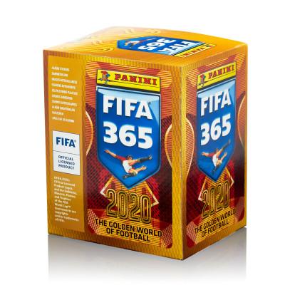 1 блок наклеек (50 пакетиков) 2019-20 Panini FIFA 365