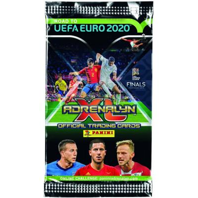 1 пакетик (6 карточек) по коллекции Panini Road to Euro 2020 Adrenalyn XL