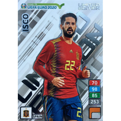ИСКО (Испания) Panini Road to UEFA EURO 2020. Limited Edition