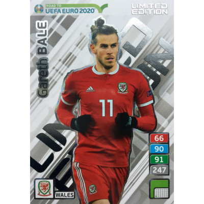 ГАРЕТ БЕЙЛ (Уэльс) Panini Road to UEFA EURO 2020 Limited Edition