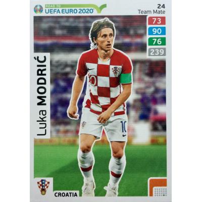ЛУКА МОДРИЧ (Хорватия) Panini Road to UEFA EURO 2020