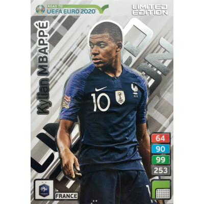 КИЛИАН МБАППЕ (Франция) Panini Road to UEFA EURO 2020. Limited Edition XXL