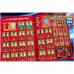 1 пакетик с наклейками (5 шт. в каждом) 2019-20 Panini FIFA 365