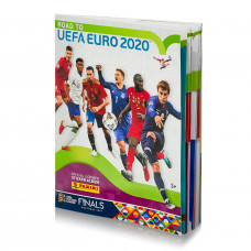 Альбом для наклеек по коллекции Panini Road to Euro 2020