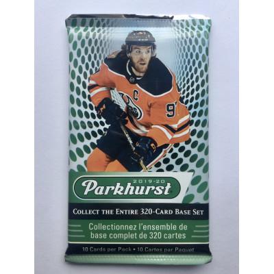 1 пакетик (10 карточек) по коллекции 2019-20 UD Parkhurst