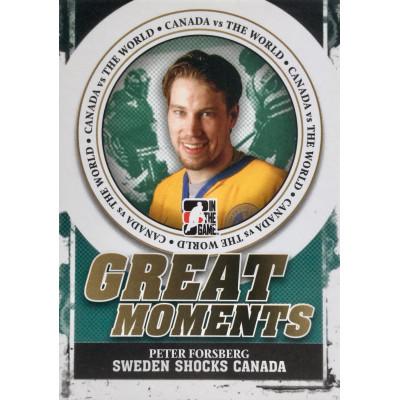 ПЕТЕР ФОРСБЕРГ (Швеция) 2011 ITG Canada vs The World Great Moments