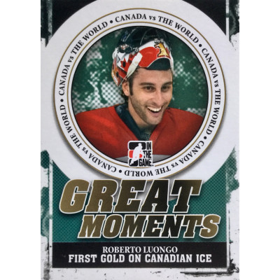 РОБЕРТО ЛУОНГО (Канада) 2011 ITG Canada vs The World Great Moments