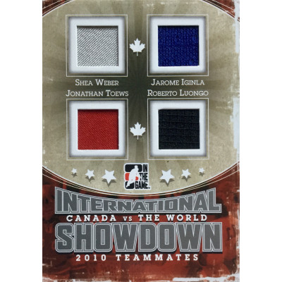 ВЕБЕР, ТЭЙВЗ, ИГИНЛА, ЛУОНГО (Канада) 2011 ITG Canada vs The World International Showdown