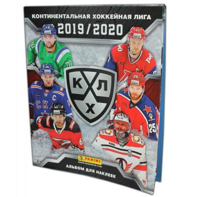 Альбом для наклеек 2019-20 Panini КХЛ 12 сезон.
