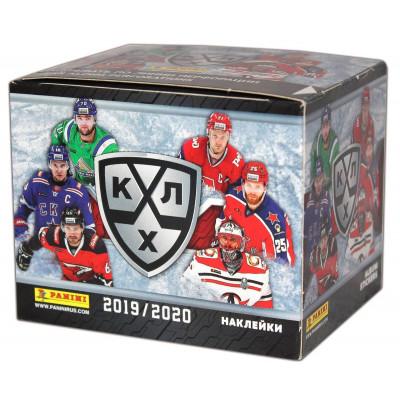 1 блок наклеек (50 пакетиков) 2019-20 Panini КХЛ 12 сезон