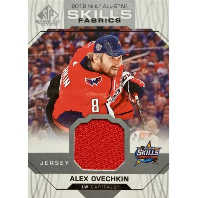 АЛЕКСАНДР ОВЕЧКИН (Вашингтон) 2018-19 SP Game Used