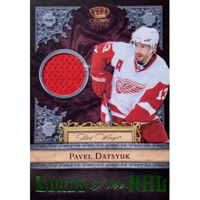 ПАВЕЛ ДАЦЮК (Детройт) 2011-12 Panini Crown Royale Lords of the NHL