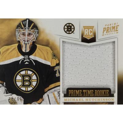 МАЙКЛ ХАТЧИНСОН (Бостон) 2012-13 Panini Prime Time Rookie Jersey