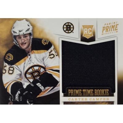 КАРТЕР КЭМПЕР (Бостон) 2012-13 Panini Prime Time Rookie Jersey