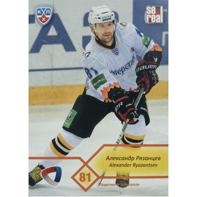 АЛЕКСАНДР РЯЗАНЦЕВ (Северсталь) 2012-13 Sereal КХЛ (5 сезон)