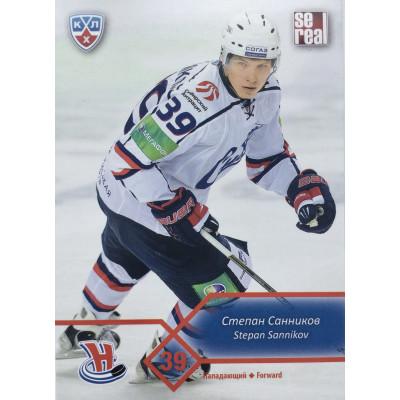 СТЕПАН САННИКОВ (Сибирь) 2012-13 Sereal КХЛ (5 сезон)