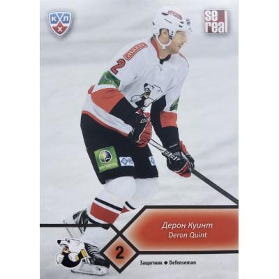 ДЕРОН КУИНТ (Трактор) 2012-13 Sereal КХЛ (5 сезон)