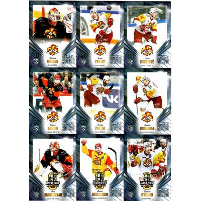 ЙОКЕРИТ (Хельсинки) комплект 9 карточек 2019-20 SeReal Лидеры КХЛ 12 сезона