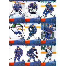 СКА (Санкт-Петербург) комплект 18 карточек 2017-18 SeReal КХЛ 10 сезон