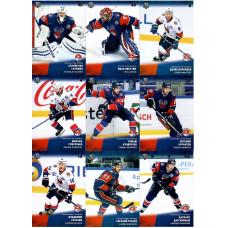 ТОРПЕДО (Нижний Новгород) комплект 18 карточек 2017-18 SeReal КХЛ 10 сезон.