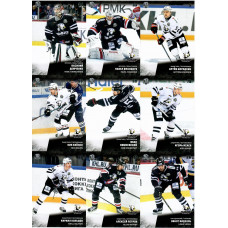 ТРАКТОР (Челябинск) комплект 18 карточек 2017-18 SeReal КХЛ 10 сезон.