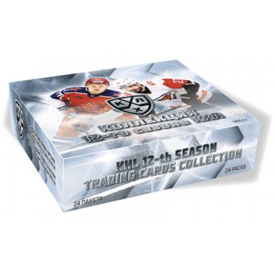1 блок (24 пакетика) по коллекции 2019-20 Sereal КХЛ 12 сезон