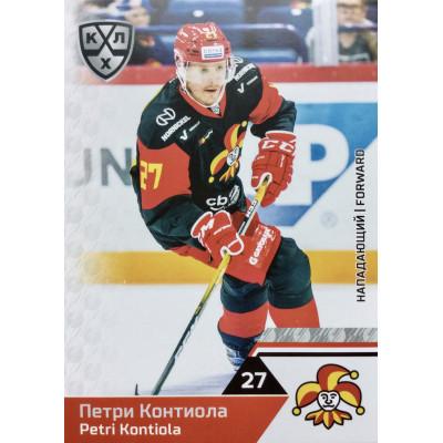 ПЕТРИ КОНТИОЛА (Йокерит) 2019-20 Sereal КХЛ 12 сезон
