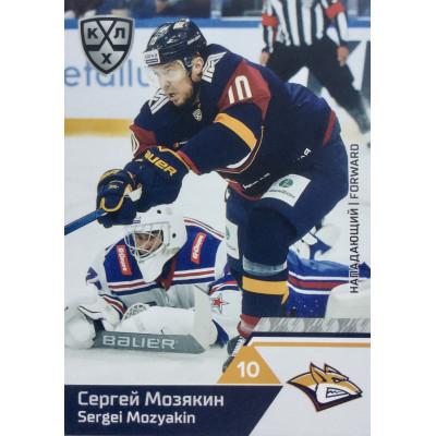 СЕРГЕЙ МОЗЯКИН (Металлург) 2019-20 Sereal КХЛ 12 сезон