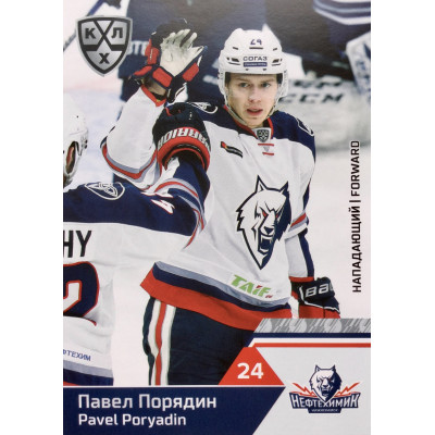 ПАВЕЛ ПОРЯДИН (Нефтехимик) 2019-20 Sereal КХЛ 12 сезон