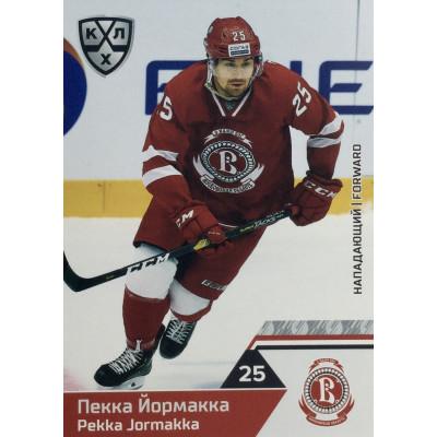 ПЕККА ЙОРМАККА (Витязь) 2019-20 Sereal КХЛ 12 сезон