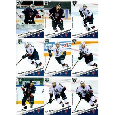 ТОРПЕДО (Нижний Новгород) комплект 18 карточек 2020-21 SeReal КХЛ 13 сезон