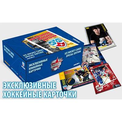 1 блок (50 пакетиков) 2010-11 Sereal КХЛ 3 сезон Эксклюзивная серия.