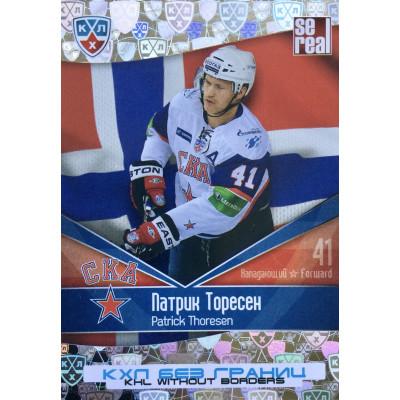 ПАТРИК ТОРЕСЕН (СКА) 2011-12 Sereal КХЛ 4 сезон Без границ