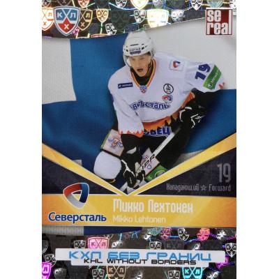 МИККО ЛЕХТОНЕН (Северсталь) 2011-12 Sereal КХЛ 4 сезон Без границ
