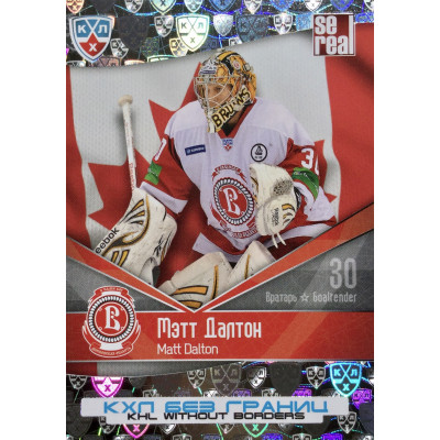 МЭТТ ДАЛТОН (Витязь) 2011-12 Sereal КХЛ 4 сезон Без границ