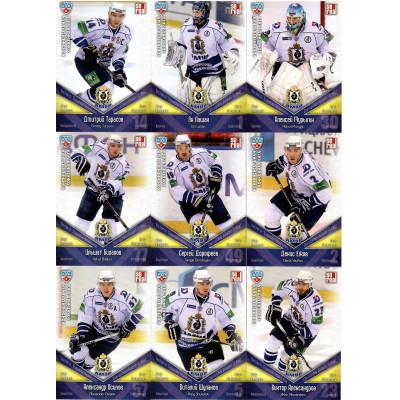 АМУР (Хабаровск) комплект 24 карточки 2011-12 Sereal КХЛ 4 сезон.