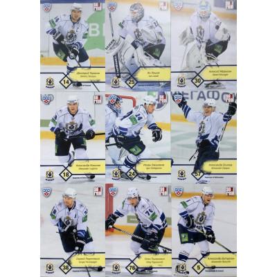 АМУР (Хабаровск) комплект 18 карточек 2012-13 Sereal КХЛ 5 сезон.